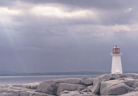Lighthouse, Nova Scotia -  Art Wolfe - McGaw Graphics