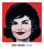 Jackie, 1964 (on red) -  Andy Warhol - McGaw Graphics