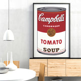 Campbell's Soup I:  Tomato, 1968 -  Andy Warhol - McGaw Graphics