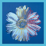 Andy Warhol - Daisy, c.1982 (blue on blue)