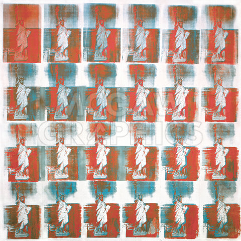 Statue of Liberty, 1962 -  Andy Warhol - McGaw Graphics