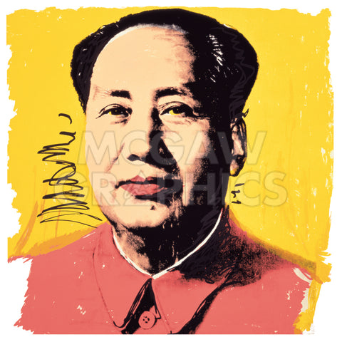 Mao, 1972 -  Andy Warhol - McGaw Graphics