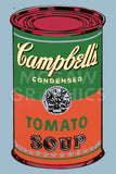 Colored Campbell's Soup Can, 1965 (green & red)