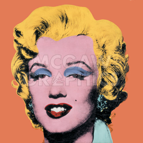 Shot Orange Marilyn, 1964 -  Andy Warhol - McGaw Graphics