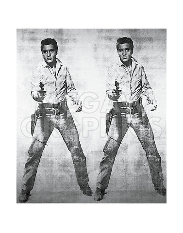 Elvis® 2 Times, 1963 -  Andy Warhol - McGaw Graphics