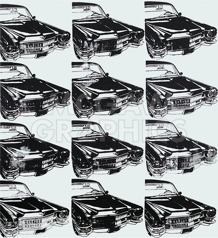 Twelve Cars, 1962 -  Andy Warhol - McGaw Graphics