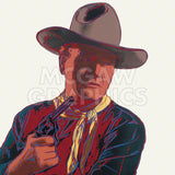 Cowboys & Indians: John Wayne, 1986 -  Andy Warhol - McGaw Graphics