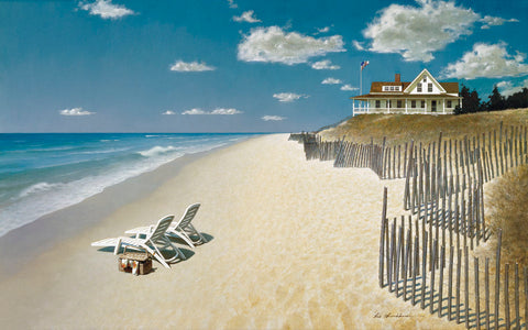 Beach House View -  Zhen-Huan Lu - McGaw Graphics