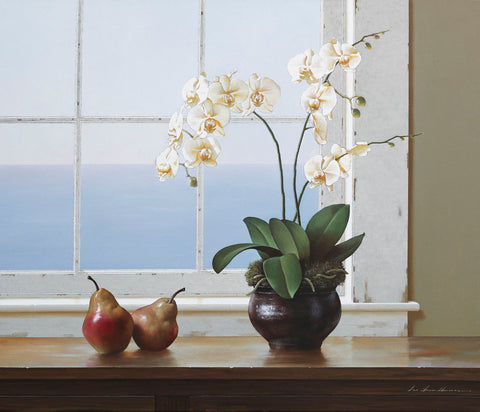 Orchids with Pears -  Zhen-Huan Lu - McGaw Graphics