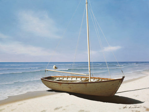Forgotten Sailboat -  Zhen-Huan Lu - McGaw Graphics