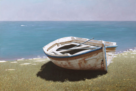 Weathered Boat -  Zhen-Huan Lu - McGaw Graphics