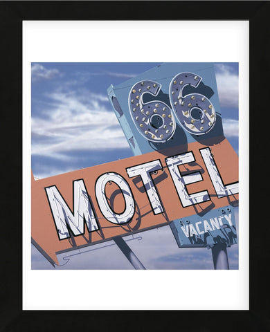 66 Motel (Framed)-Anthony Ross-McGaw Graphics