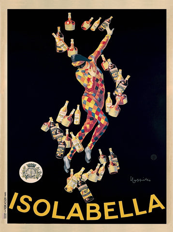 Isolabella, 1910 -  Leonetto Cappiello - McGaw Graphics