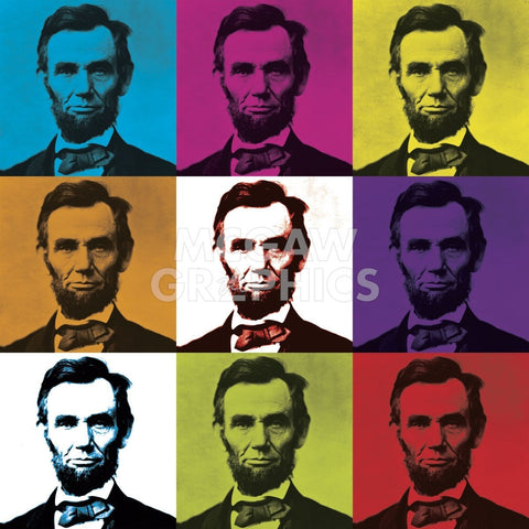 Abraham Lincoln-Celebrity Photography-McGaw Graphics