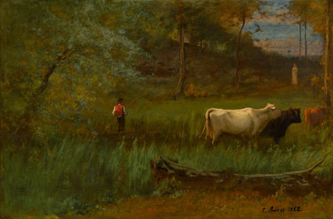 A Pastoral, c. 1882-85-George Inness-McGaw Graphics