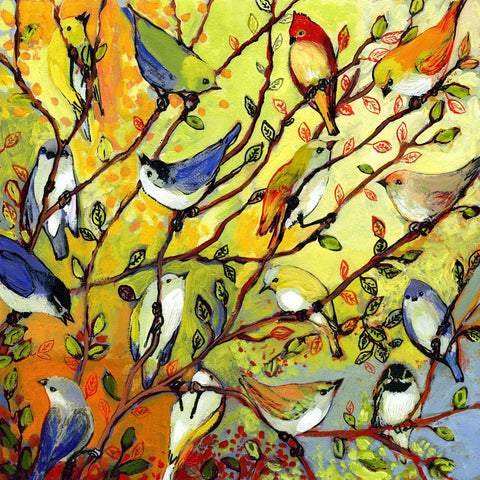 16 Birds-Jennifer Lommers-McGaw Graphics