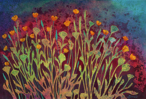 A Poppy Tapestry-Jennifer Lommers-McGaw Graphics