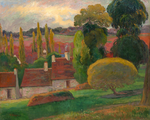 A Farm in Brittany, ca. 1894-Paul Gauguin-McGaw Graphics