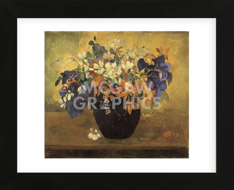 A Vase of Flowers, 1896 (Framed)-Paul Gauguin-McGaw Graphics