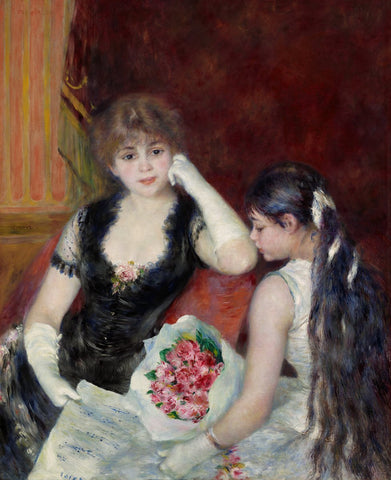 A Box at the Theater (at the Concert), 1880-Pierre-Auguste Renoir-McGaw Graphics