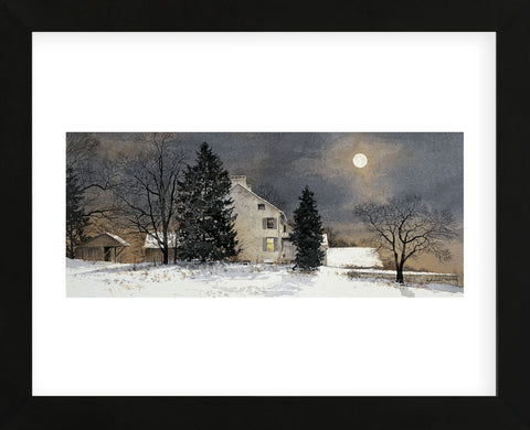 A Cold Night (Framed)-Ray Hendershot-McGaw Graphics