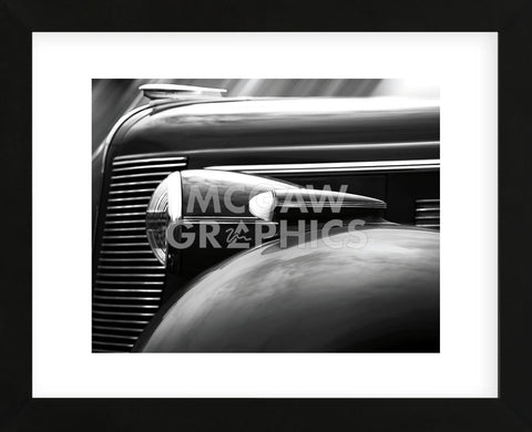 37' Buick (Framed)-Richard James-McGaw Graphics
