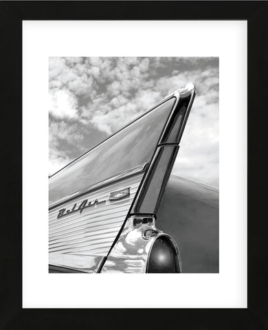 '57 Fin (Framed)-Richard James-McGaw Graphics