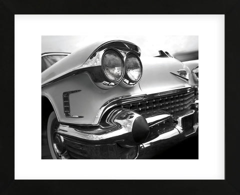 '58 Cad Eldo (Framed)-Richard James-McGaw Graphics