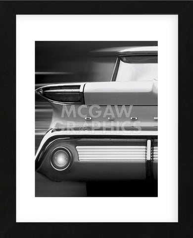 '60 Olds (Framed)-Richard James-McGaw Graphics