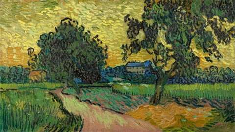 Vincent van Gogh - Landscape at Twilight, 1890
