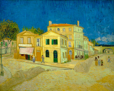 The Yellow House ('The Street'), 1888 -  Vincent van Gogh - McGaw Graphics