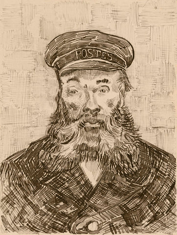Vincent van Gogh - Portrait of Joseph Roulin, 1888