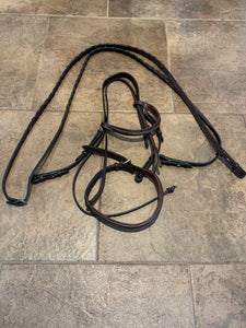 Hadfields Hunter Bridle- F
