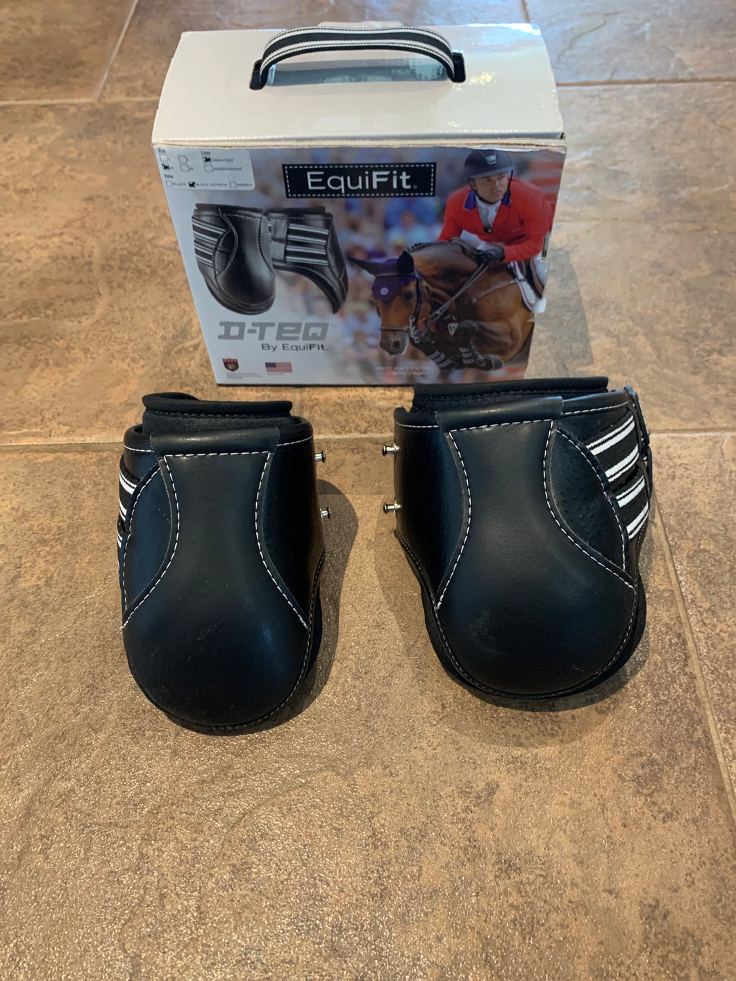 Equifit D-Teq Hind boots- M