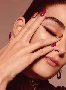 5 nail art d'autunno