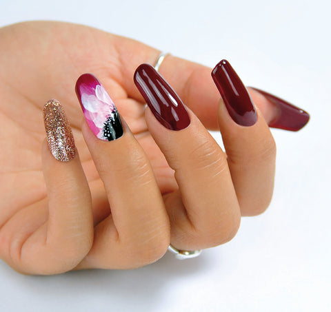 5 hot nails d'autunno