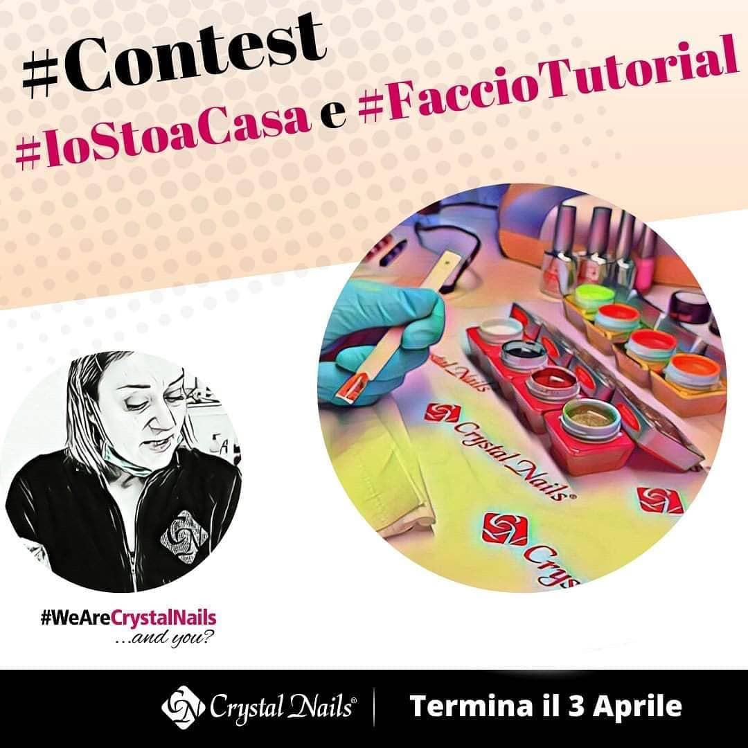 crystal nails #iostoacasa