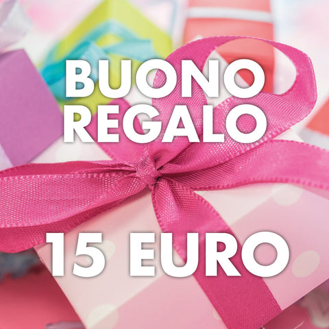 Buono Regalo 15 euro - ebellezza.it