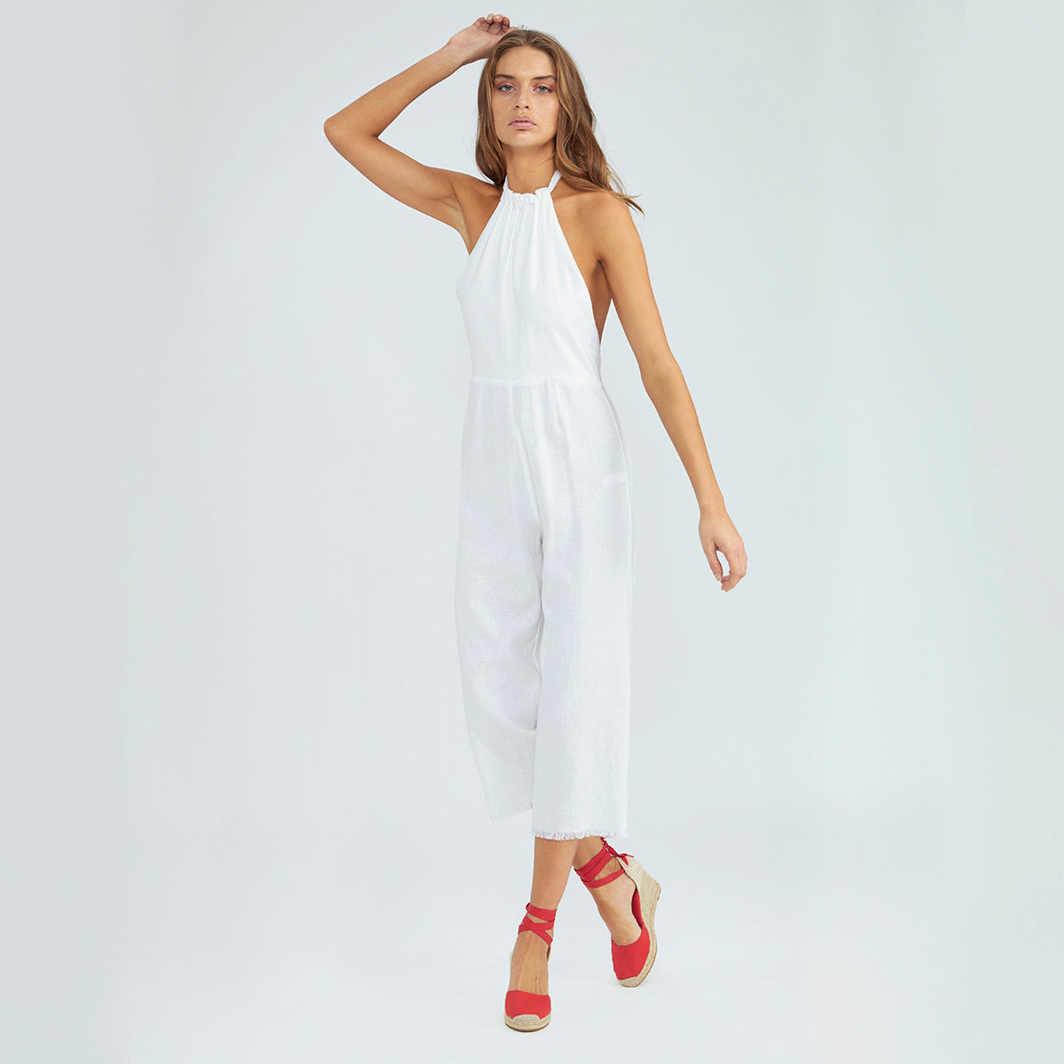 Everyday Jumpsuit - Pure White