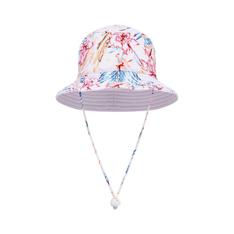 Kids Bucket Hat - Soft Tropical