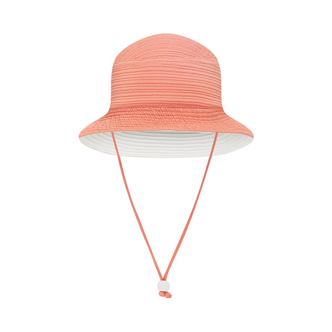 Kids Beach Hat - Textured Pêche