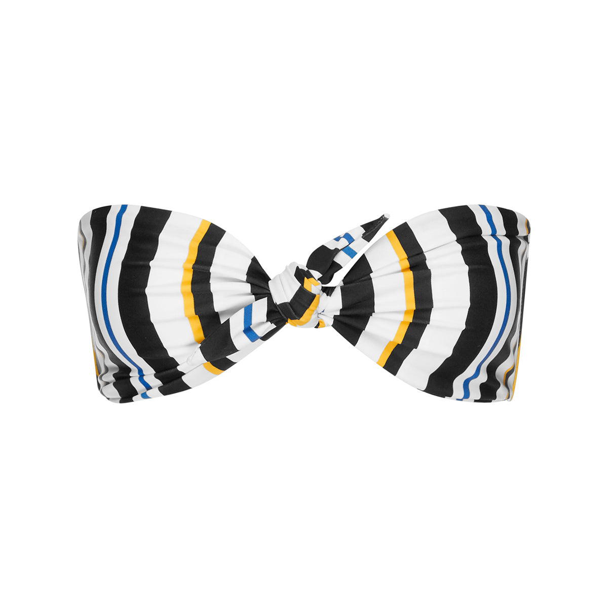 Gracie Bandeau - Airforce Stripe