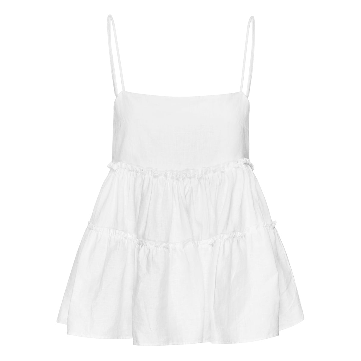 Marlo Tiered Cami - Ivory