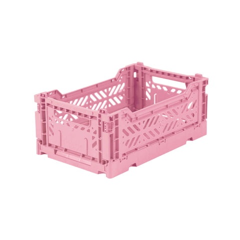 AYKASA Folding Crate mini - baby pink