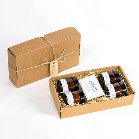 Soy Wax Candle Sample Giftbox