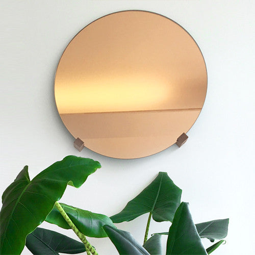 FIGR! Reflector D50 Mirror rose - jatoba