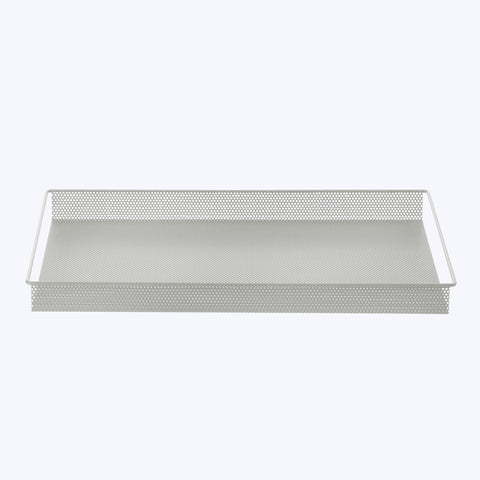 Metal Tray Large grey