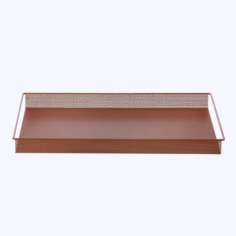 Metal Tray Large ochre