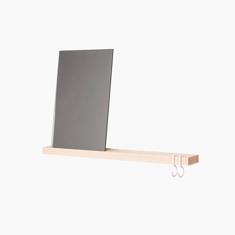 Reflector Rectangle Mirror blanc/grey