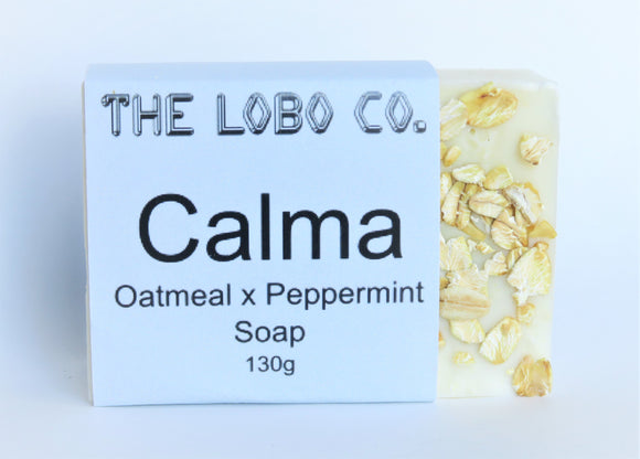 Calma - Oat Peppermint Soap